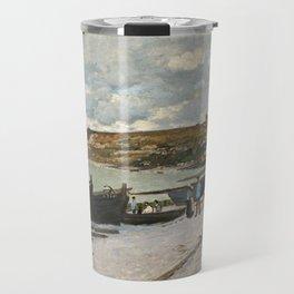 Claude Monet - Sainte-Adresse, 1867 Travel Mug