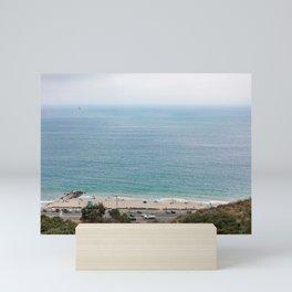 Santa Monica Beach, Pacific Ocean Mini Art Print