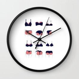 Butts & Bras Wall Clock