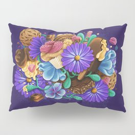 SWEETS & FLOWERS Pillow Sham