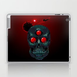 Horror From Beyond Time and Spaaaaaaace! Laptop & iPad Skin