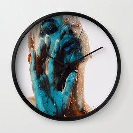 Rest Rain Wall Clock