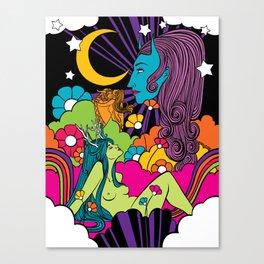 The Garden of Intergalactic Delights Canvas Print