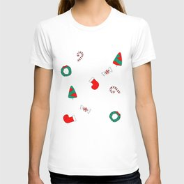 Winter Holiday Themed Illustration Merry Christmas! T-shirt