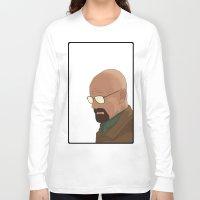 gta v Long Sleeve T-shirts featuring GTA Walter White by dbarroso