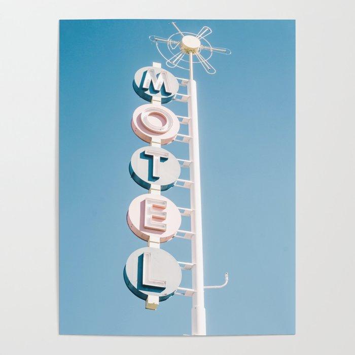 Vintage Motel Sign Poster