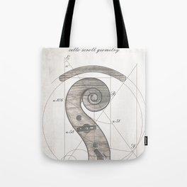 musical geometr.eye Tote Bag