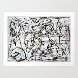 Compo 3 Art Print