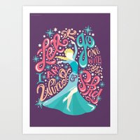 risa rodil Art Prints featuring Snow Queen by Risa Rodil