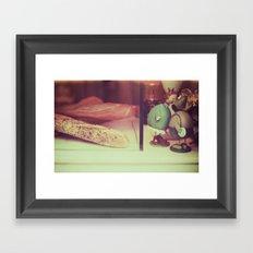 Paris souvenir  Framed Art Print
