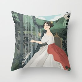 Ada Lovelace Throw Pillow