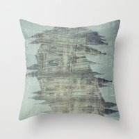 milan Throw Pillows featuring Milan by TheSiro