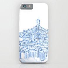 Zen temple in the cloud iPhone 6s Slim Case
