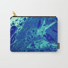 Aqua Texture (Color) Carry-All Pouch