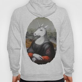 Unicorn Mona Lisa Hoody