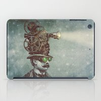 night iPad Cases featuring The Projectionist (colour option) by Eric Fan