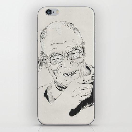 Dalai Lama iPhone & iPod Skin