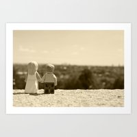 Wedding Print Art Print