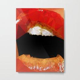 Pleasure Bomb - Kubistika by Boris Draschoff Metal Print
