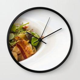 The Art of Food Bacon Sideways Wall Clock