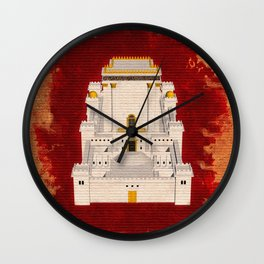 The Temple of Solomon Wall Clock