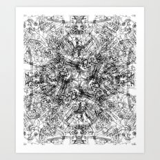 CPU (Dark T-shirt Version) Art Print
