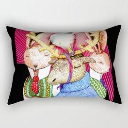 Fools' King Rectangular Pillow