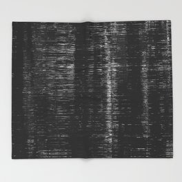 Fade Out Throw Blanket