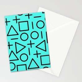 Memphis pattern 68 Stationery Cards