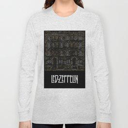 Physical Graffiti. Zeppelin lyrics print. Long Sleeve T-shirt