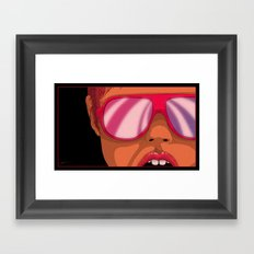 Avid Aversion Framed Art Print
