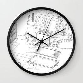 Korg VC-10 - exploded diagram Wall Clock