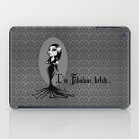 bitch iPad Cases featuring I'm Fabulous...bitch by Lagoonartastic