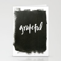 grateful dead Stationery Cards featuring grateful by Social Proper