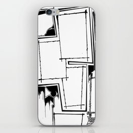 Drawing A Blank iPhone Skin