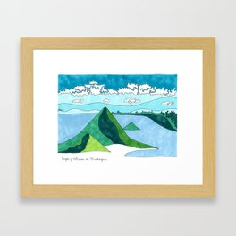 Nicaragua, Land of Lakes and Volcanoes Framed Art Print