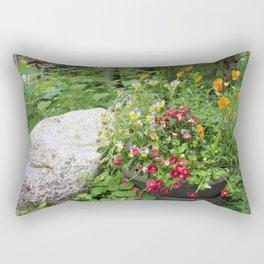 Flower Pot Rectangular Pillow