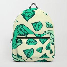 Green Emeralds Backpack