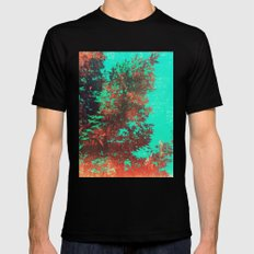 Japanese Maple Mens Fitted Tee Black LARGE