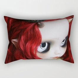 STEAMPUNK (Ooak  BLYTHE Doll) Rectangular Pillow