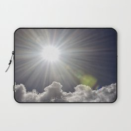 Lens flare sunflash Laptop Sleeve