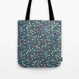 Eucalyptus and flowers Tote Bag
