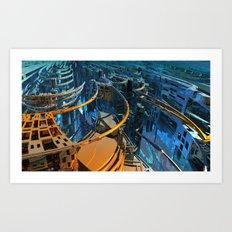 Cityzen by Jean-François Dupuis Art Print
