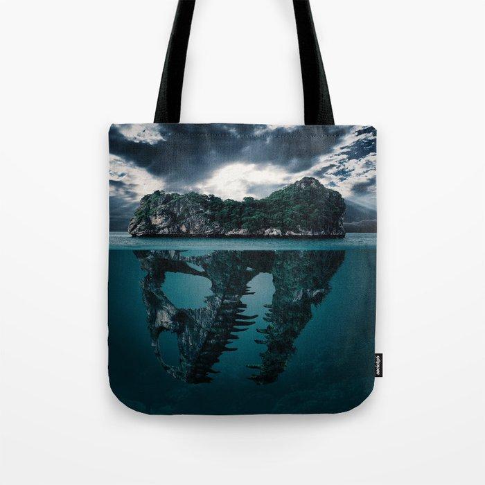 Mysterious Ocean Tote Bag
