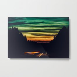Warp One Metal Print