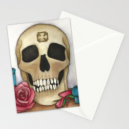 Strengh in Death Stationery Cards