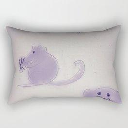 Mice at Play Rectangular Pillow