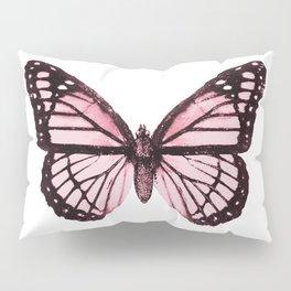 Monarch Butterfly Pink Dream Pillow Sham