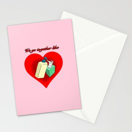 Hand Lotion and Tissues Stationery Cards