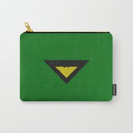 Green Phoenix Symbol Carry-All Pouch